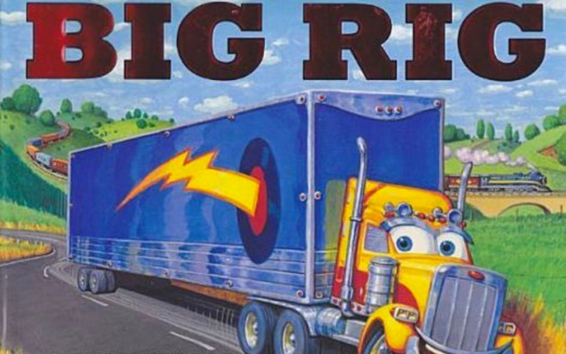 "Behind the scenes on ""Big Rig'"