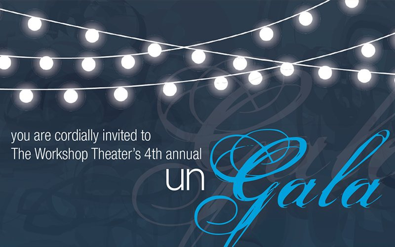 "Auctioneering the ""Un Gala"" for The Workshop Theatre"